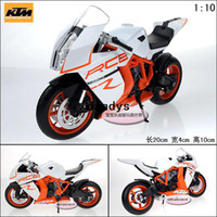 Diecast alloy ktm - Wyly welly ktm rc8 delicate belt alloy model motorcycle shock absorbers dandys