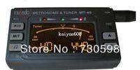 Wholesale Tone Generator Tuner Clip in LCD Electronic Digital Metronome For Violin Guitar