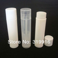 Wholesale DIY g lip balm plastic tubes container lip gloss containers pc