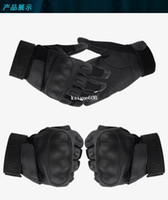 Wholesale spring and summer black hawk men tactical gloves outdoor cut resistant slip resistant full finger cycling gloves