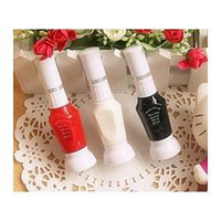 Wholesale Nail decoration essential point on the wave shape of the flower DIY nail painting flowers oil pull pin brush pen two special