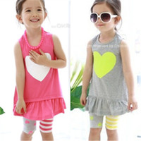 Wholesale 2015 Real Mueble Rattan Chair Korean Foreign Trade Children s Clothing Summer Models Love Bottoming Vest Skirt Dress Pants Suit