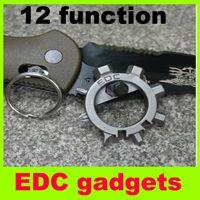 Wholesale 2014 new EDC gadgets multifunctional bicycle equipment multi purpose key EDC gadget mini tools hiking camping gadgets L