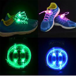 Más reciente 4a Generación de Fibra Óptica LED Cordones de los Zapatos de Agujeta Platube de Neón Fuerte Luz Parpadea Cordones de los zapatos con los envases al por menor CW0121