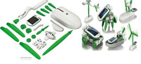 Wholesale 1404c Fashion New in Educational DIY Solar Kit Robotikits Toy Christmas Gift