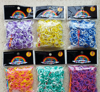 Wholesale Loom Rubber Bands Pc Rubber Band Refill Pack Tie dyed and Compatible with All Looms