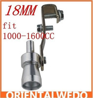 Wholesale Universal Turbo Sound Exhaust Whistle Fake Blowoff BOV Simulator Whistler S MM FIT CC