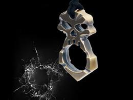 Wholesale Skull Keychain Self Defense Emergency Survival Tool Mini Emergency Hammer
