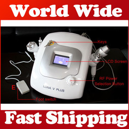 Wholesale New design LUNA Ultrasonic Cavitation Slimming machine with Large Medium Small size Bipolar RF Radio frequency Multipolar Skin Tightening