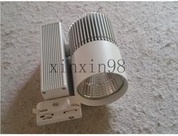 Wholesale 8pcs Lot White shell COB 30W High Super LED Spot toggery Light   Lamp Track Light   Lamp AC85~265V