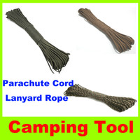 Backpacking backpacking clothing - 2014 new Umbrella Rope Outdoor camping Climbing laces bags braided ropes bundled tent ropes clothes line Lanyard ropes Parachute Cord L
