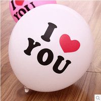 Wholesale Beautiful quot Printed I Love You Balloon Marriage Proposal Balloon Gift Balloon Q1405