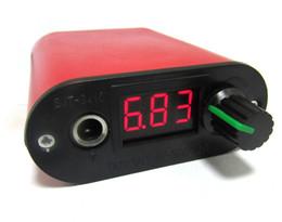 Wholesale 9410 Red MiNi LCD Digital Tattoo Power Machine Supply