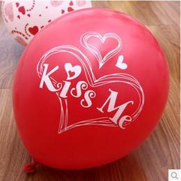 """Globos del corazón en venta-Lovely """"Q1410 12 Globos de la fiesta de cumpleaños del globo del globo rojo del corazón"""