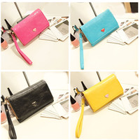 designer purses - Fashion Multifunctional Ladies Envelope Wallet Purse Women PU Leather Designer Handbags Clutch Bag Coin Card Phone Holders Case Cover H9908