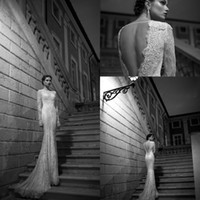 Cheap Trumpet/Mermaid Newest Wedding Dress Best Reference Images Bateau Lace Dress