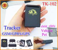 Mini Tracker GPS Spy Car Tracker GPS TK-102 mini tiempo real global de coches viejos Niños admiten más pequeño dispositivo GSM GPRS GPS de seguimiento del perseguidor