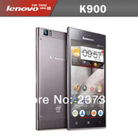 35Phone 5.5 Android 5.5 Inch IPS Lenovo K900 Android 4.2 Multi-language Dual Core Single SIM 2048MHz Intel Atom CPU 16GB ROM 13.0MP Camera