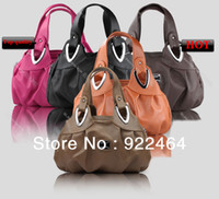 Totes Women Plain New 2014 Hot Selling Designer Brand Women Handbags Fashion Casual PU Leather Hand Bags Hot Selling Women Messenger Bags 32 Color