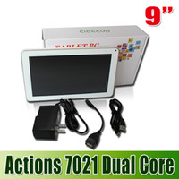 Wholesale Hot Sale quot Dual Core Android Tablet PC MB RAM GB Android inch actions WIFI OTG HDMI point touch camera goodwillbiz