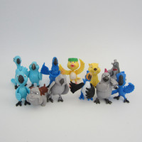 Wholesale 12pcs set Cute Cartoon The Movie Rio Blu Jewel PVC Action Figure Model Toys Dolls Baby Toys Christmas Gifts