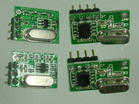 Wholesale 2014 NEW x Mhz Lowest in current consumption smallest in size RF transmitter and receiver module