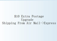 Cheap 10 USD Extra Postage Upgrade Air Mail shipping to Express for $150<Order<$200
