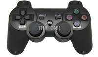 Wholesale ps3 controller sixaxis wireless vibration gamepad wireless sixaxis controller gamepad wireless controller ps3 bluetooth joystick dhl free