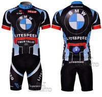 Wholesale LITESPEED BMW CAPO GUINNESS Cycling Jersey Bib Shorts Men Bike Team Lightweight High Elastic Spandex Padded Women Cycling Shorts
