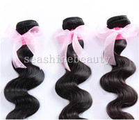 Wholesale Best Sale cheap hair body wave Weft brazillian remy human hair extension weaving natural black
