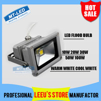 Wholesale Waterproof Led floodlight RGB IR Control W W W W W Led Bulb V LED lighting outdoor light lamp Warm white