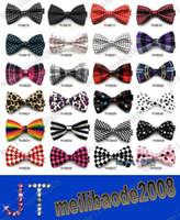 Wholesale bowties men s ties men s bow ties men bow tie pure color bowtie MYY840