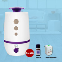 Wholesale Ultrasonic air humidifier for home mute boutique humidification L large capacity air conditioned double nozzle Humidifier