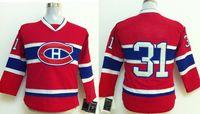 Wholesale Youth Canadiens Hockey Jerseys Red Carey Price Ice Hockey Uniforms Name Logo Stitched Styles Newest Ice Hockey Jersey Kids Sportwear