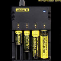Universal Nitecore I4 Charger for Li- ion NiMH 18650 14500173...