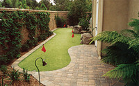 Wholesale diy backyard putting green diy garden putting
