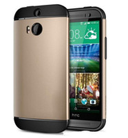 Wholesale For All New HTC One M8 SGP SLIM ARMOR in Shock Proof Impact Hybrid case cover