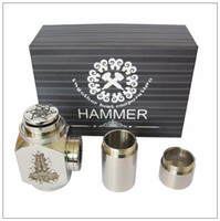 Single   Hammer E Pipe Mod Kit E cig Mechanical E-Pipe Mod E Cigarette for CE4 CE5 Vivi Nova U-DCT Atomizer