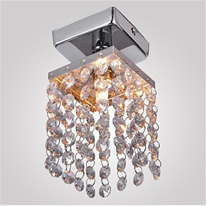 Crystal Chandelier Cheap: Mini Crystal Chandelier Ceiling Lights Modern Chandeliers Ceiling Lamp  Pendent Lamp Cheap Crystal Chandelier Entrance Hallway Light Chrome Red  Chandelier ...,Lighting