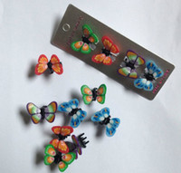 Hair Claws Plastic Geometric 1404L 2014 explosion models popular children's beautiful butterfly hair accessories headdress small gripper hairpin 37705484762