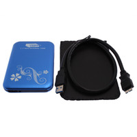 Yes Yes 3.5'' Blue new USB inch HDD Case 6Gps Hard Drive Disk SATA 2TB External 83010