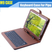 Folding Folio Case 9 Inch Universal Original Standard 10.1 inch Keyboard Leather Case for Pipo M9 M9 pro Tablet Pc