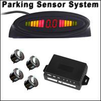 Wholesale Car LED Parking Sensor Monitor Auto Reverse Backup Radar Detector System Backlight Display Sensors LY