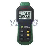 Wholesale A Circuit Analyzer Mastech MS5908 TRMS AC Low Voltage Distribution Line Fault Tester RCD GFCI Sockets Testing