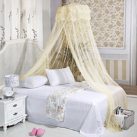 100% Polypropylene Cotton Column 2014 New Summer The Princess Condole Top Bed Canopy Mosquito Net Curtain Free Shipping ZHW067