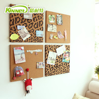 Wholesale Nytex muons hanging zebra print x35cm hanging cork message board