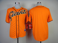 Baseball Men Short Blank Jerseys 2014 Newest Giants Orange Majestic Baseball Jerseys High Quality Cheap Stitched Sporting Jerseys for Sale Hot Softball Jerseys