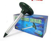 Wholesale 1404c New Solar Powered Ultrasonic Rodent Mouse Rat Pest Repeller Solar Mouse Repeller