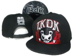 Wholesale Cheap TKDK Tokidoki Caps John Branson Snap Backs Fashion Caps and Hats Black Flat Cap New Summer Women Hats Popular Hiphop Hats Mix Order
