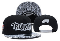 Ball Cap as pciture Spring & Fall Wholesale - New arrival TRUKIT snapback hats snap back hip hop cap for men and women baseball cap TOP QUALITY Free shipping 80 styles
